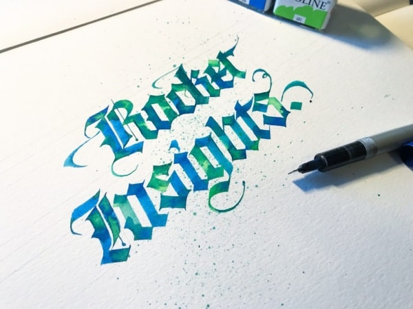 Pilot Parallel Calligraphy
