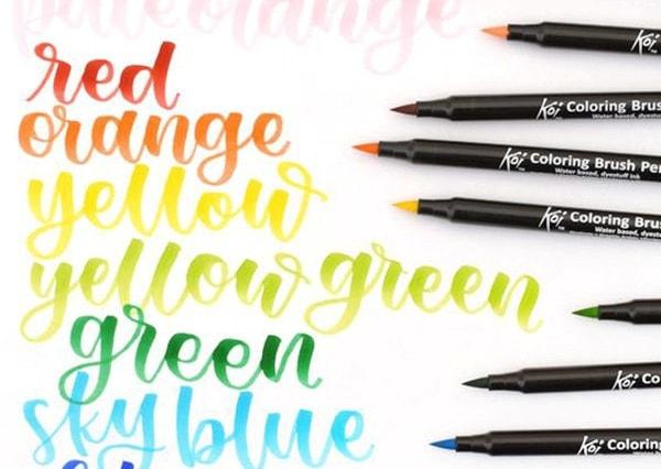 Sakura Koi Brush Pen