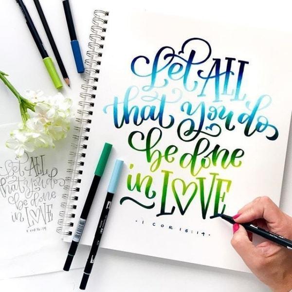 bút viết calligraphy cho người mới bắt đầu