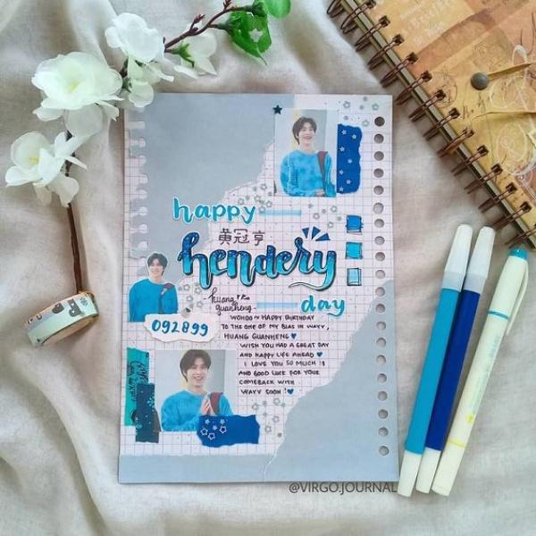Kpop Journal được nhiều bạn trẻ yêu thích (Ảnh: Virgo Journal)