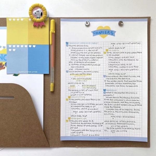 Take Notes trên những tờ Note Pad cũng đáng yêu lắm nhé