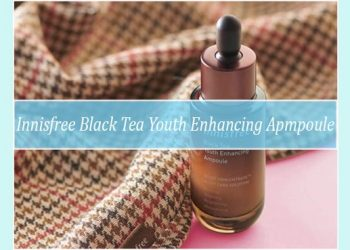 Review Innisfree Black Tea Youth Enhancing Ampoule