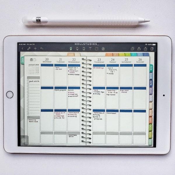 Take Note tren iPad Air 3