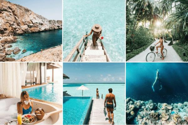 Filter Instagram chụp cảnh đẹp