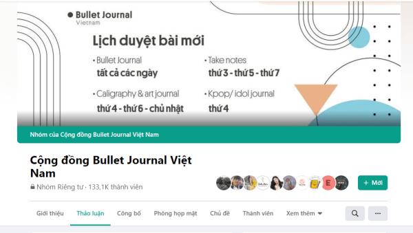 Cộng đồng Bullet Journal Việt Nam