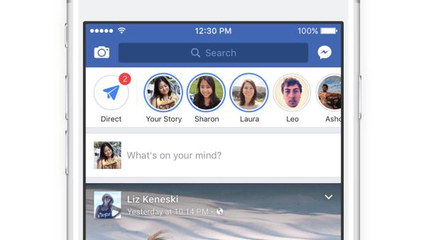 Bạn nên đăng story bằng ứng dụng Facebook trên điện thoại