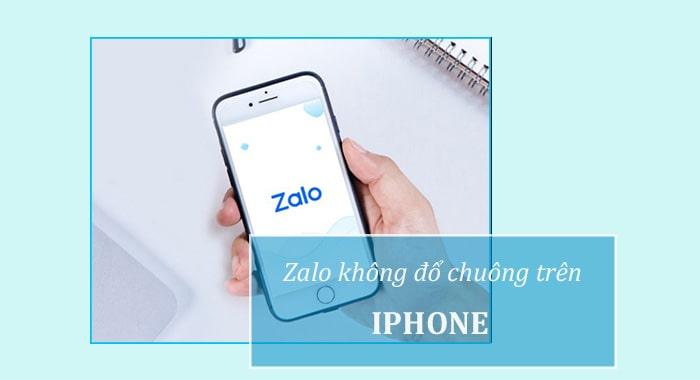 Zalo trên iPhone không đổ chuông khi có cuộc gọi đến