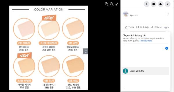 Cách dùng Page để Comment dạo