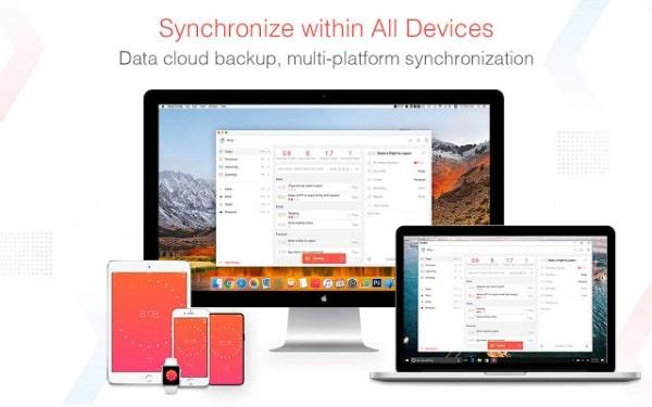 Bạn có thể sử dụng Focus To-Do trên nhiều thiết bị khác nhau