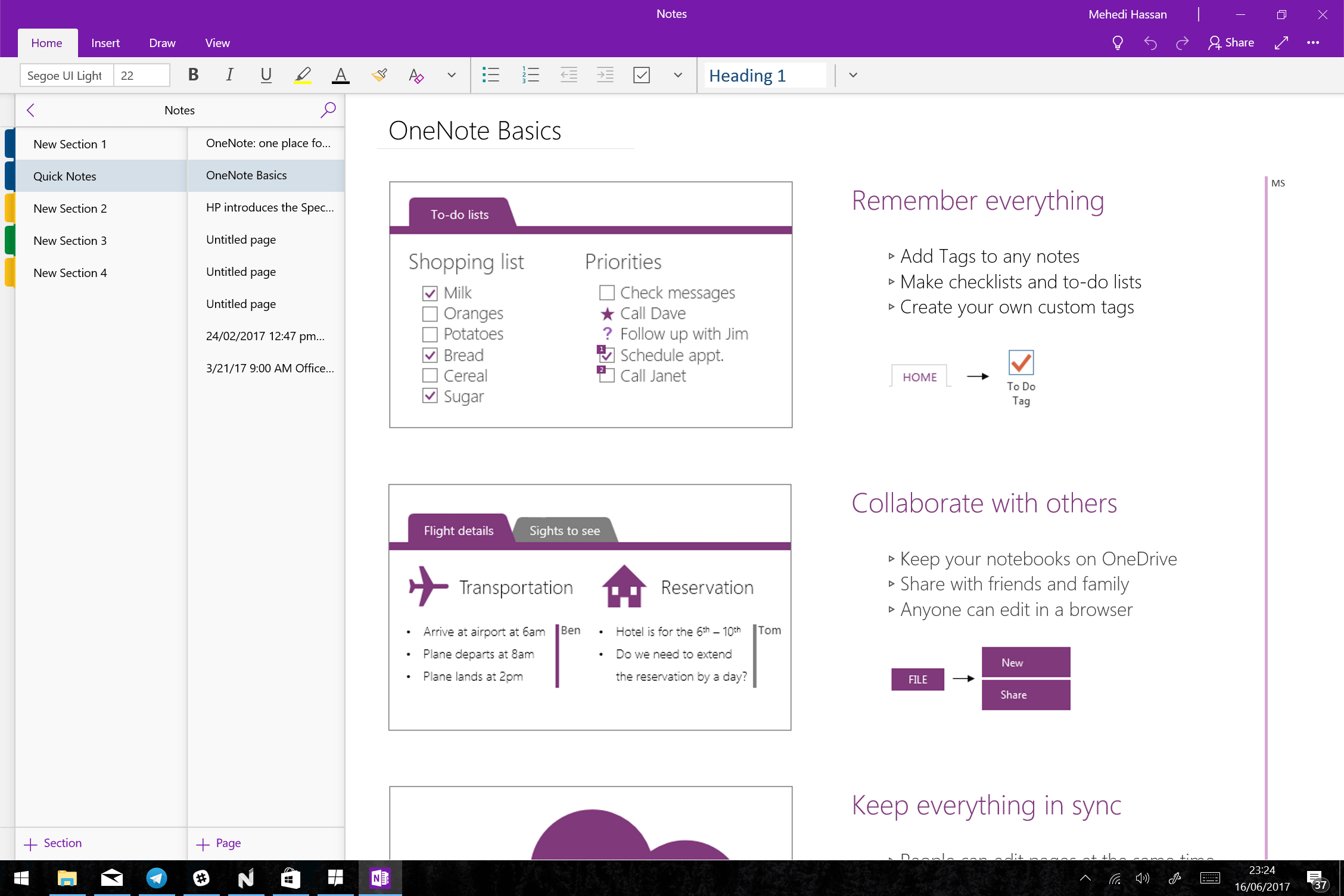 Ứng dụng OneNote