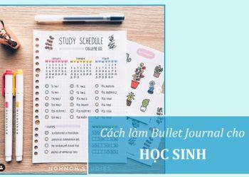 Làm Bullet Journal cho học sinh