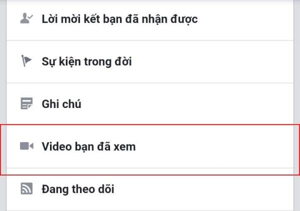 Cách tìm lại video đã xem bằng điện thoại