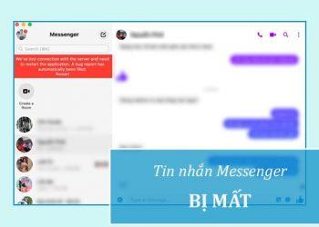 Khôi phục tin nhắn Messenger bị mất