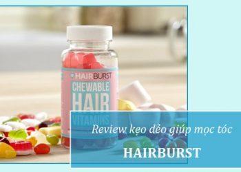 Review kẹo dẻo mọc tóc Hairburst