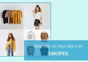 Shop bán áo thun uy tín trên Shopee