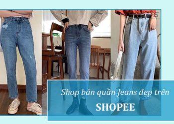 Shop bán quần Jeans đẹp ở Shopee