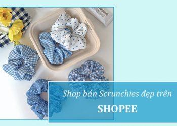 Shop bán Scrunchie đẹp trên Shopee