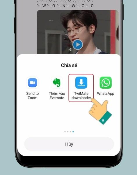 Cách tải GIF Twitter về điện thoại Android: Hoàn tất