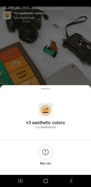 Filter +3 aesthetic colors