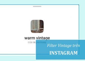 Filter Instagram Vintage