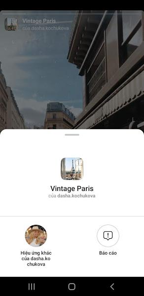 Filter Vintage Paris