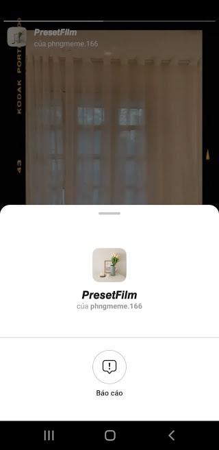 Filter PresetFilm