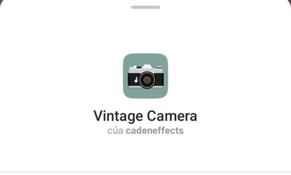 Filter Vintage trên Instagram