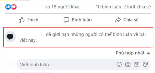 Cách giới hạn bình luận trên Facebook