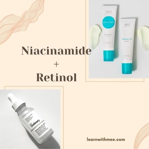 Có nên dùng Niacinamide với Retinol?