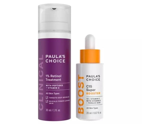 Bạn cần chọn sản phẩm Retinol và Vitamin C phù hợp