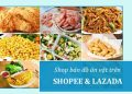 Shop bán đồ ăn vặt trên Lazada